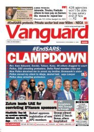 11112020 - #End SARS : CLAMPDOWN