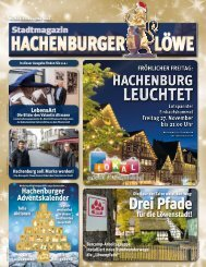 Hachenburger Löwe Weihnachtsausgabe 2020
