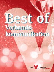 Jahrbuch der Verbandskommunikation