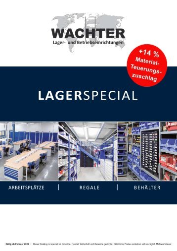WACHTER Lagerspecial