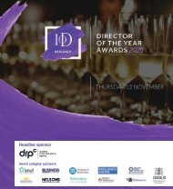 IOD Mids Director of Year Awards Brochure