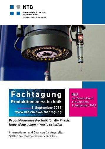 Konzept der Tagung - NTB Hochschule für Technik Buchs