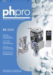 phpro – Prozesstechnik für die Pharmaindustrie 05.2020