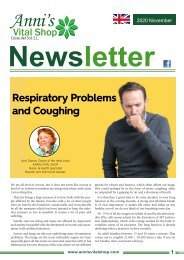 Respiratory Problems and Coughing