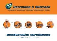 Bundesweite Vermietung - Wittrock-Gruppe