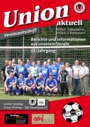 """Der Wanderpokal """"Frintroper Löwe II"""" - SV Union Essen-Frintrop ..."""