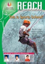 SSS Newsletter - Jun 2006-Part 1 - Singapore Sports School