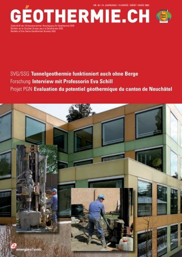 Geothermiebohrung Basel - Temperaturmessung ... - Geothermie.ch
