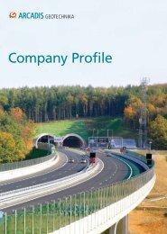 Company Profile - ARCADIS Geotechnika as