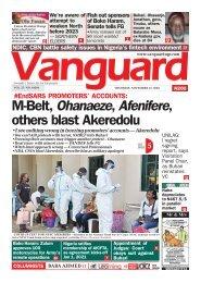 12112020 - #EndSARS PROMOTERS' ACCOUNTS: M-Belt, Ohanaeze, Afenifere, others blast Akeredolu