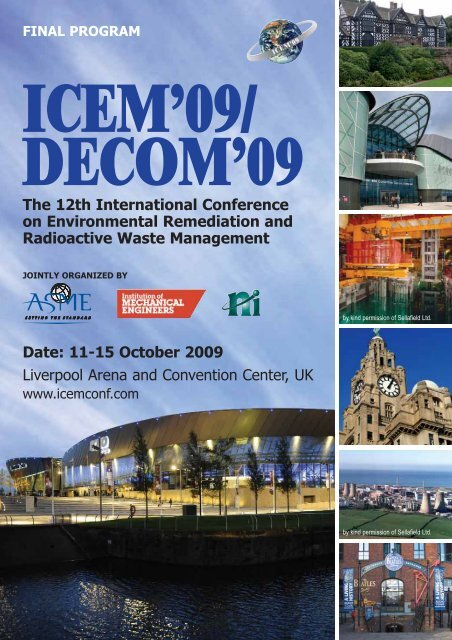 The 12th International Conference on Environmental ... - Events