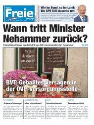 Wann tritt Minister Nehammer zurück?