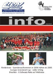3 Das Jahr 2006 – Unser Jubiläumsjahr – ist vorbei! - Schwarz-Rot