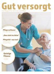 Gut versorgt - Das Magazin für Senioren und Pflege | 2020