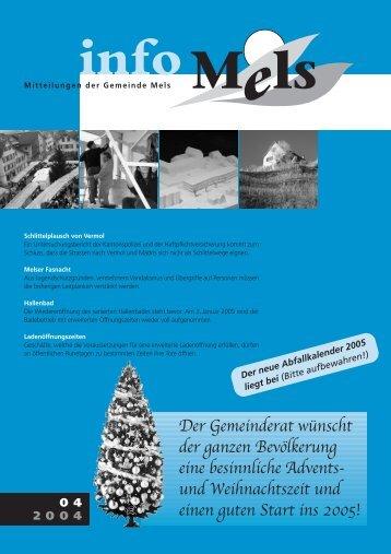 INFO MELS_04_2004.qxp - Gemeinde Mels