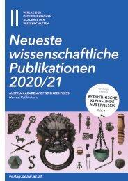 Neuerscheinungen 2020/21