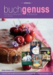 buchgenuss - Kochbuch-Neuheiten & Bildbände