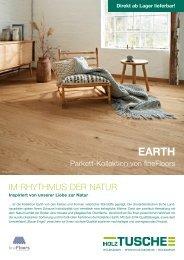 EARTH Parkett-Kollektion von fineFloors
