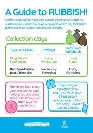 A guide to rubbish