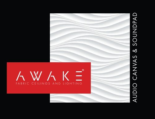 Audio Canvas & Soundpad: Premium Wide-Span Acoustic Fabric System