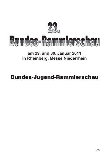 am 29. und 30. Januar 2011 in Rheinberg, Messe ... - Widder-AG