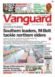 13112020 -  RESTRUCTURING: Southern leaders, M-Belt tackle northern elders