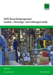 WIFI Branchenprogramm Sanitär-, Heizungs- und ... - shk.at