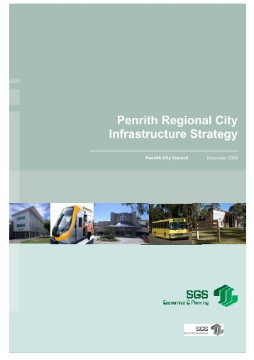 Penrith Regional City Infrastructure Strategy - Penrith City Council ...