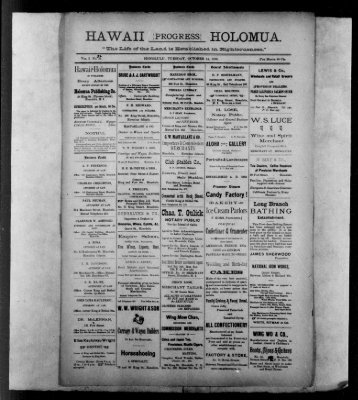 HAWAII progressHOLOMUA. - Chronicling America