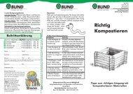 Richtig Kompostieren - BUND