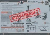 ATH-Heinl und Reifen1Plus Flyer Flex Lift 30Z