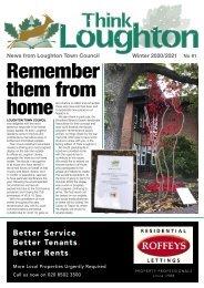 Think Loughton No 91 Winter 2020/21