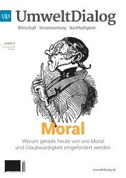Die neue Macht der Moral