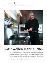 Für mich ist die Küche nur - Wiesmann Küchen