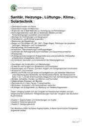 Sanitär, Heizungs-, Lüftungs-, Klima-, Solartechnik - qcw