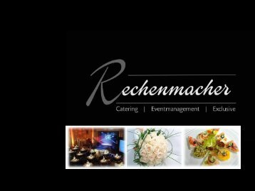 Business-catering - rechenmacher.it