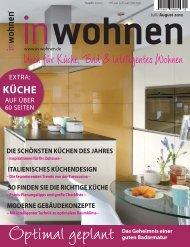 Ideen für Küche, Bad & intelligentes Wohnen - Inwohnen