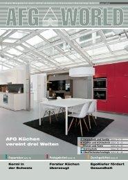 AFG Küchen vereint drei Welten - bei der AFG