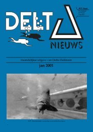 jan 2001 - Delta Duikteam