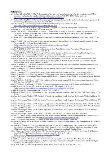 References - AERC