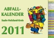 KAlender AbfAll - Abfallwirtschaftsbetrieb Saale-Holzland-Kreis