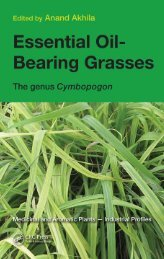 Essential Oil- Bearing Grasses