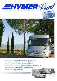 Nr. 1 | Juli 2009 Das Magazin rund ums mobile Reisen - HYMER.com