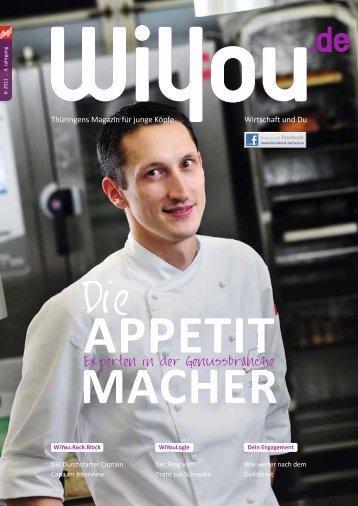 Experten in der Genussbranche - WiYou Thüringen - Ausbildung