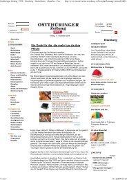 Ostthüringer Zeitung - OTZ ... - Netzhaut-Selbsthilfe.de