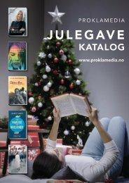 Proklamedia Julegave katalog 2020