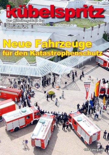 Neue Fahrzeuge - Feuerwehr Pforzheim