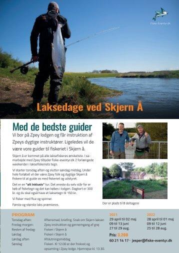 Fiskerejser til Skjern Å 2021 og 2022