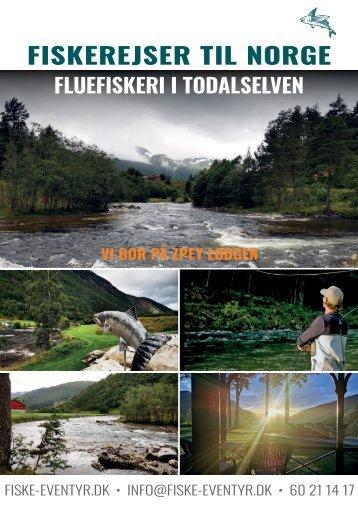 Fiskerejser til Norge 2021 og 2022