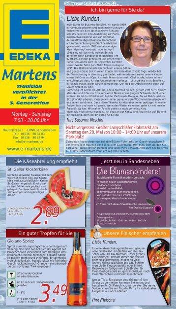Liebe Kunden, - EDEKA Martens